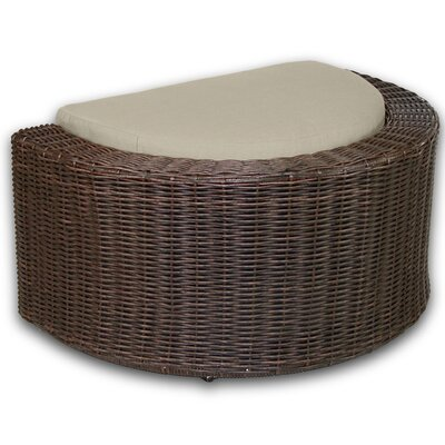 Palomar Ottoman with Cushion Fabric: Sand