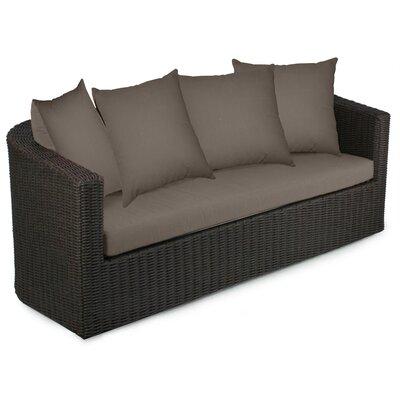 Palomar Sofa with Cushions Fabric: Coffee