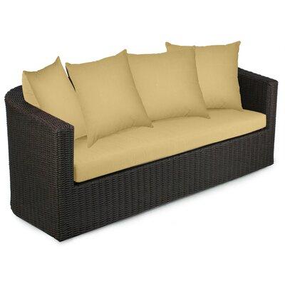 Palomar Sofa with Cushions Fabric: Daffodil