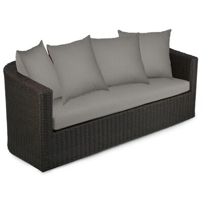 Palomar Sofa with Cushions Fabric: Graphite