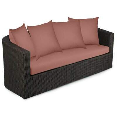Palomar Sofa with Cushions Fabric: Grenadine
