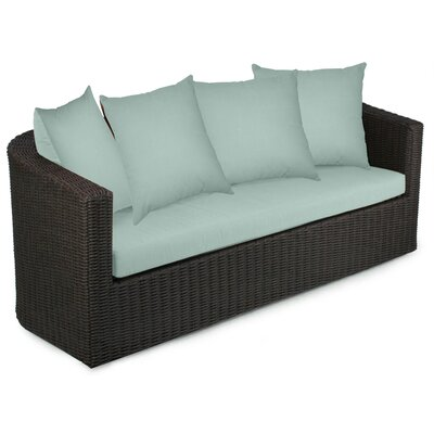 Palomar Sofa with Cushions Fabric: Mist