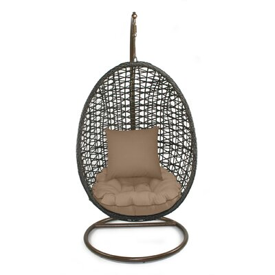 Skye Birds Nest Swing Chair with Stand Fabric: Sierra