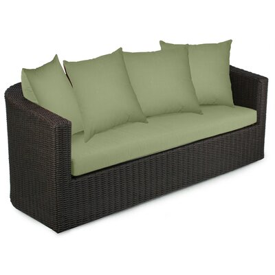 Palomar Sofa with Cushions Fabric: Cilantro