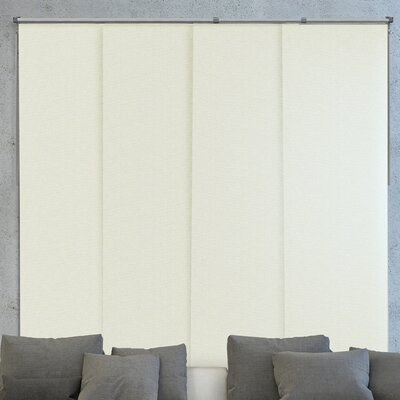 Sliding Panel Blackout Vertical Blind Color: Vanilla Gold Dust
