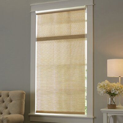 Sparks Continous Loop Privacy Roller Shade Size: 48 W x 72 L, Color: Cream