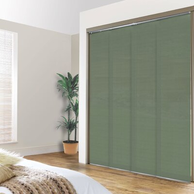 Sliding Panel Room Darkening Vertical Blind Color: Alps Cucumber