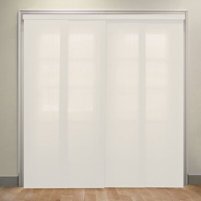 Deluxe Adjustable Sliding Panel Vertical Blind Color: Allure Powder