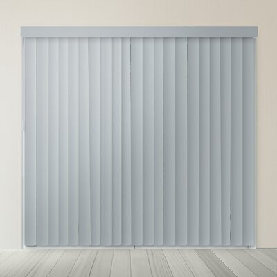 Cordless Vertical Blind Color: Slate Gray
