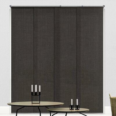 Light Filtering Adjustable Vertical Blind Finish: Nautical Gray