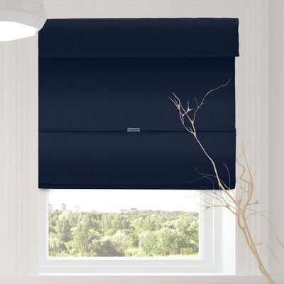 Luxurious Cordless Magnetic Room Darkening Roman Shade Blind Size: 27 W x 64 L