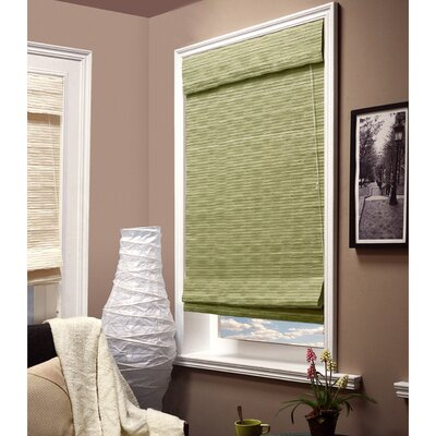 Charming Privacy Roman Shade Size: 36 W x 64 L x 2 D, Color: Jade