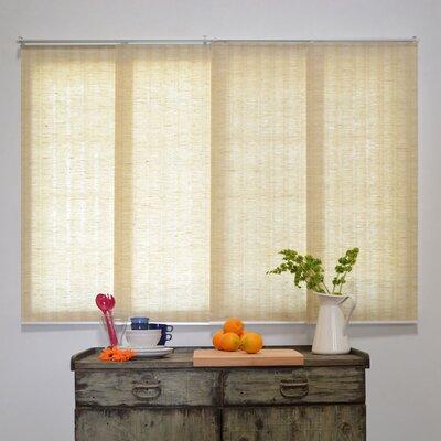 Sliding Panel Room Darkening Vertical Blind Color: Veil White