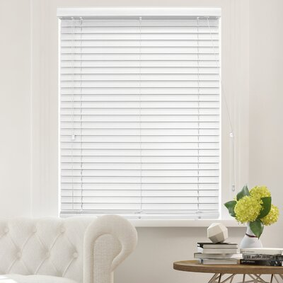 Blackout Horizontal/Venetian Blind Blind Size: 36W x 64L, Color: Simply White