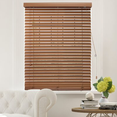 Blackout Horizontal/Venetian Blind Blind Size: 23W x 64L, Color: Simply Brown