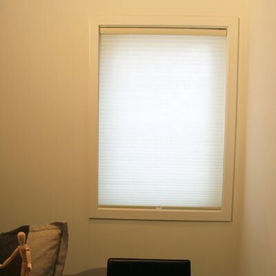 Estrada Cordless Cellular Blackout Shade Size: 43 W x 72 L, Color: Whisper Tapioca