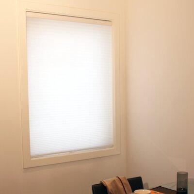 Estrada Cordless Cellular Blackout Shade Size: 48 W x 72 L, Color: Whisper White