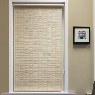 Chaves Continous Loop Privacy Roller Shade Size: 33 W x 64 L, Color: Maize
