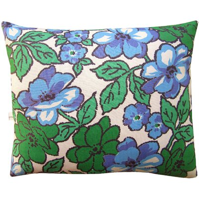 Squillow Nest Block Print Accent Cotton Throw Pillow