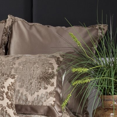 Isadore Sham Size: King, Fabric: Taupe