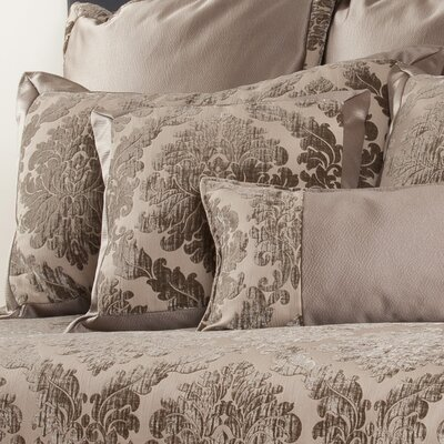 Isadore Sham Fabric: Damask, Size: King