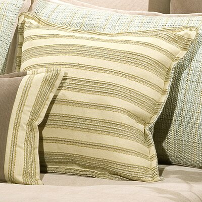 Duncan Cushion Throw Pillow Color: Seafoam
