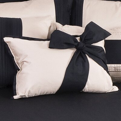 Tux Solid Throw Pillow Color: Ivory