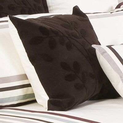 Adaire Cotton Throw Pillow Color: Ivory