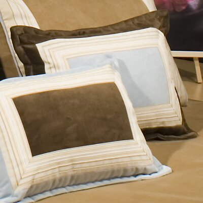 Albany Cotton Boudoir/Breakfast Pillow Color: Blue