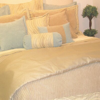 Haven Comforter Fabric: Faux Suede, Size: King