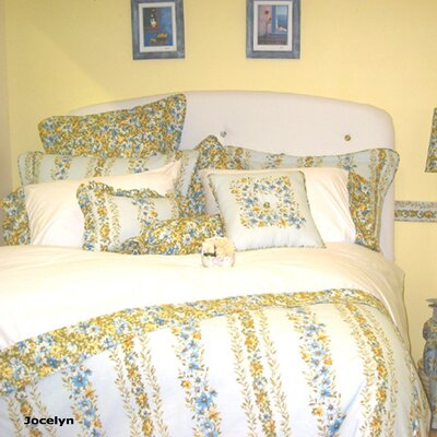 Jocelyn Duvet Cover Size: Queen