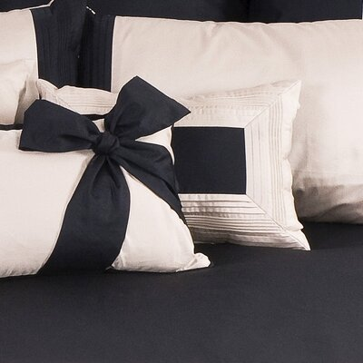 Tux Boudoir/Breakfast Pillow Color: White