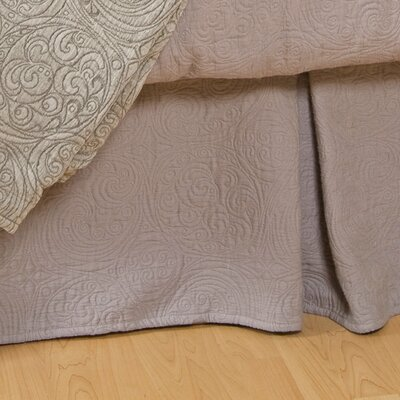 Peyton Bed Skirt Size: King