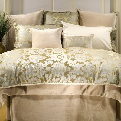 Louvre Duvet Cover Size: Queen, Fabric: Faux Silk