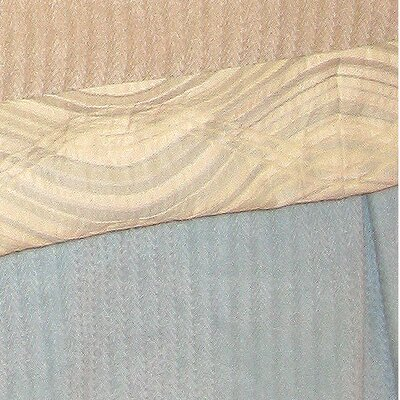 Haven Bed Skirt Size: Twin