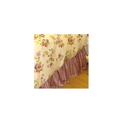 Mirabella Ruffle Bed Skirt Size: Twin