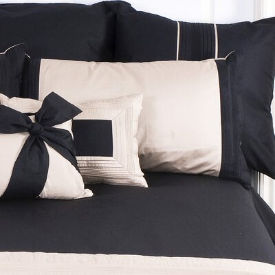 Tux Pillowcase Size: King, Color: Taupe