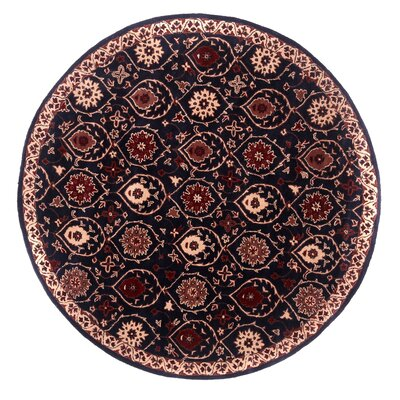 Tempest Hand-Tufted Charcoal Area Rug Rug Size: Round 79