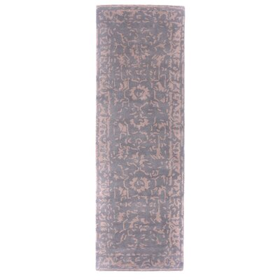 Tempest Hand-Tufted Gray Area Rug Rug Size: Runner 26 x 79