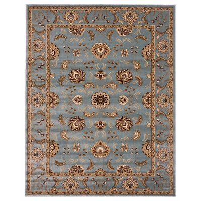 Brillante Blue Area Rug Rug Size: 86 x 116