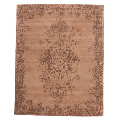 Tempest Hand-Tufted Bone Area Rug Rug Size: 49 x 79