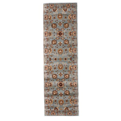 Brillante Blue Area Rug Rug Size: Runner 23 x 76