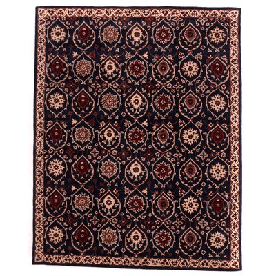 Tempest Hand-Tufted Charcoal Area Rug Rug Size: 79 x 99