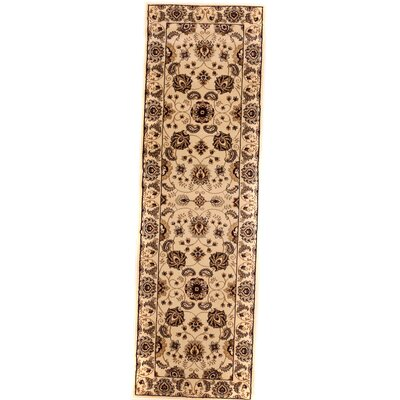 Brillante Cream Area Rug Rug Size: Runner 23 x 76