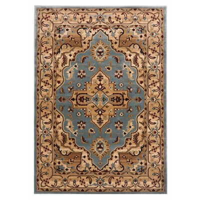 Brillante Blue/Cream Area Rug
