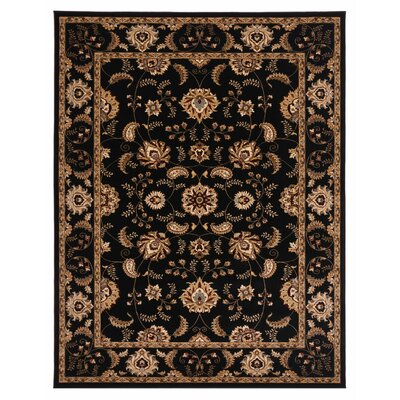 Brillante Ebony Area Rug Rug Size: 76 x 910