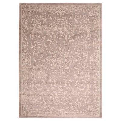 Jas Light Brown Area Rug Rug Size: 33 x 411