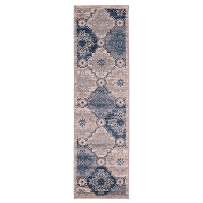 Island Light Beige Area Rug Rug Size: Runner 23 x 76