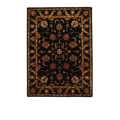 Tempest Black Oriental Area Rug Rug Size: 8 x 11