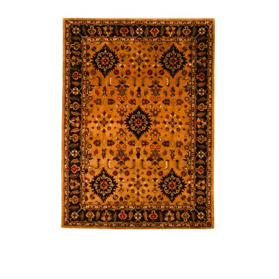 Tempest Light Brown/Cola Area Rug Rug Size: 8 x 11